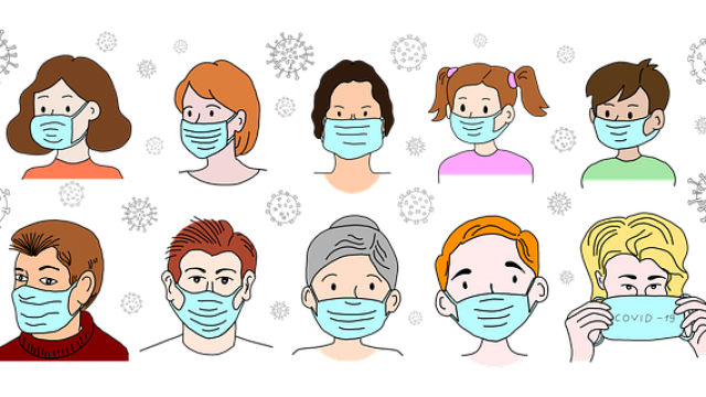 How to combat side effects of wearing a mask