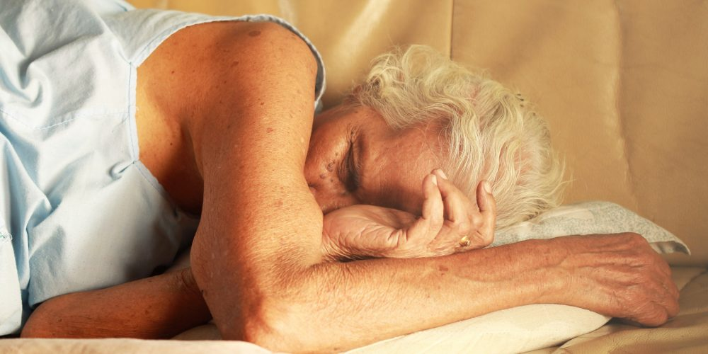 As you age, sleeping becomes more difficult