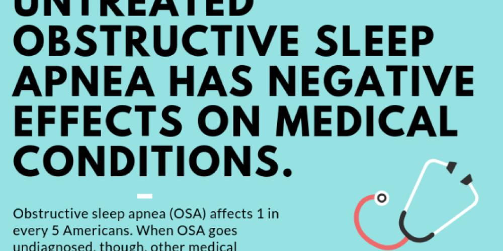 The negative effects of untreated sleep apnea on medical conditions